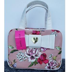 Betsey Johnson travel/ makeup bag